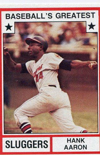 Photo of 1982 TCMA Greatest Sluggers #4 Hank Aaron
