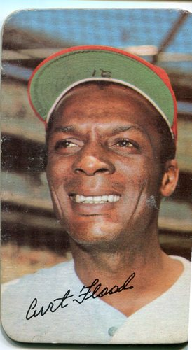 Photo of 1971 Topps Super #41 Curt Flood