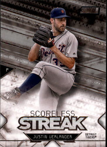 Photo of 2017 Stadium Club Scoreless Streak #SSJV Justin Verlander