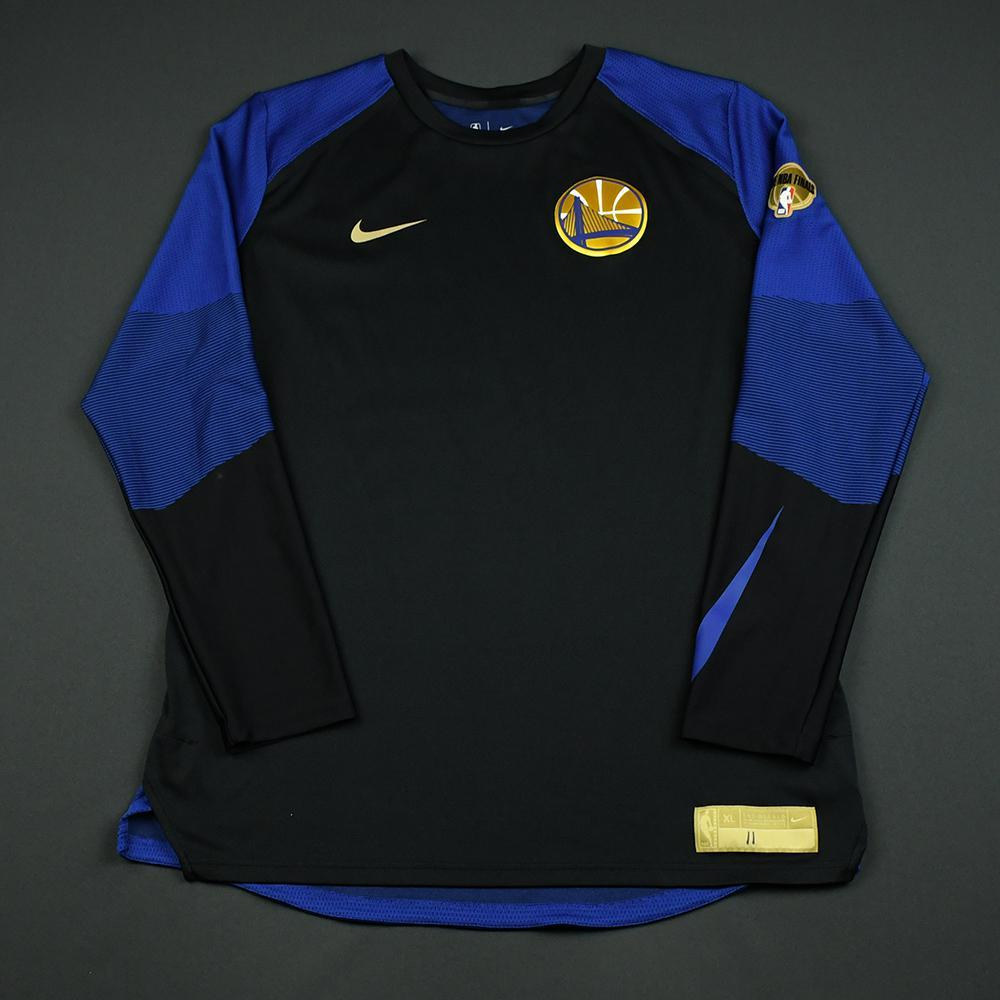 Klay Thompson - Golden State Warriors - 2018 NBA Finals - Game-Issued Shooting Shirt