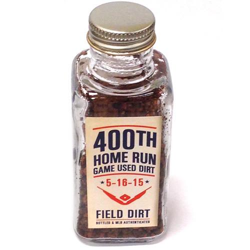 Detroit Tigers 400th HR Bottled Dirt