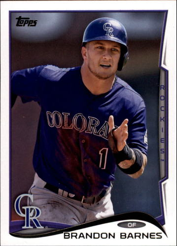 Photo of 2014 Topps Update #US286 Brandon Barnes