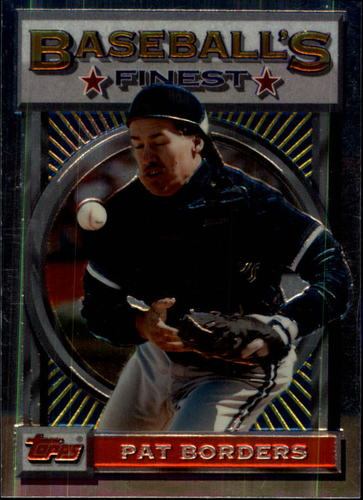 Photo of 1993 Finest #133 Pat Borders