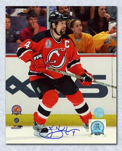 Scott Stevens New Jersey Devils Autographed Cup Finals Action 16x20 Photo