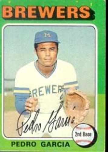 Photo of 1975 Topps #147 Pedro Garcia