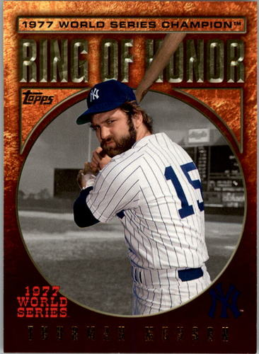 Photo of 2009 Topps Ring Of Honor #RH99 Thurman Munson