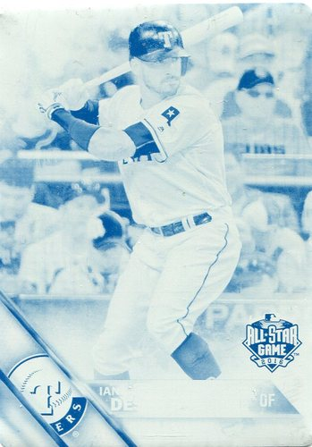 Photo of 2016 Topps Update Printing Plates Cyan #US23 Ian Desmond AS