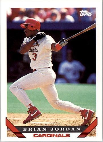 Photo of 1993 Topps #754 Brian Jordan