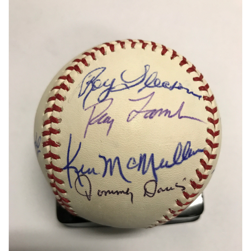 Photo of LA Dodgers Foundation Online Auction: 60's Legends Autographed Baseball - Not Authenticated by MLB