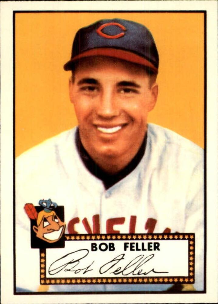 1983 Topps 1952 Reprint #88 Bob Feller