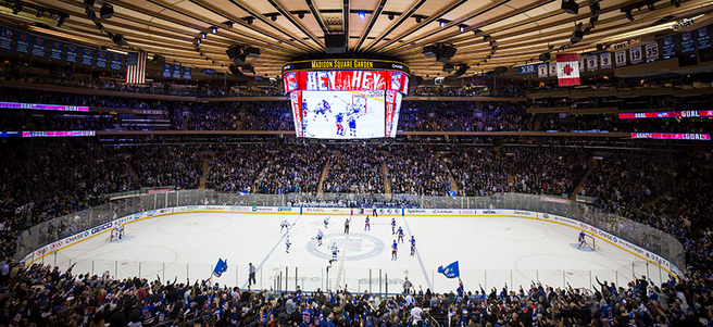 NEW YORK RANGERS HOCKEY GAME: 12/18 NY RANGERS VS. ANAHEIM (2 SECTION 110D TICKETS)