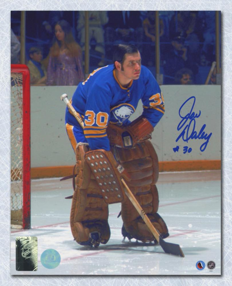 Joe Daley Buffalo Sabres Autographed Goalie 8x10 Photo