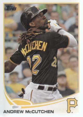 Photo of 2013 Topps #122A Andrew McCutchen