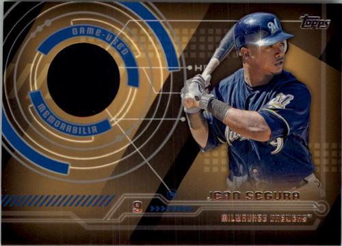 Photo of 2014 Topps Trajectory Relics #TRJS Jean Segura