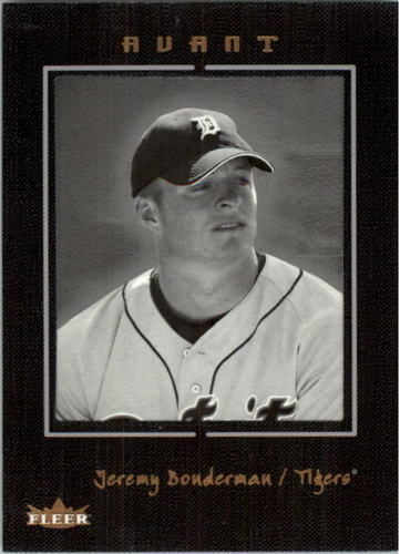 Photo of 2003 Fleer Avant Black and White #80 Jeremy Bonderman ROO