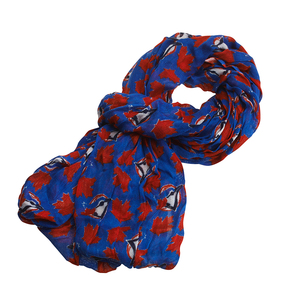 Blue Jays Logo Infinity Scarf by Gertex