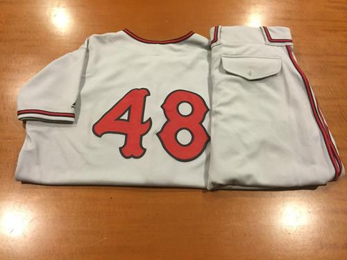 Photo of Keyvius Sampson Game-Used Cincinnati Tigers Uniform