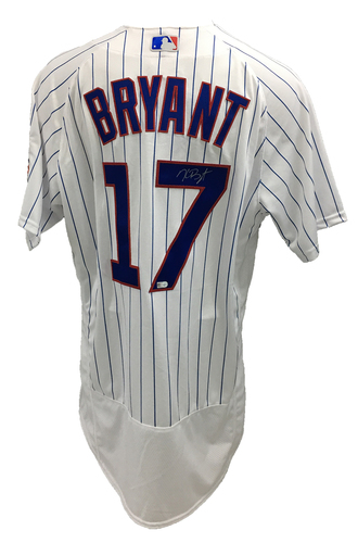 Photo of Kris Bryant Autographed Jersey