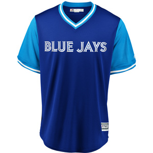 Toronto Blue Jays 2018 Players Weekend Little League Replica Jersey by Majestic