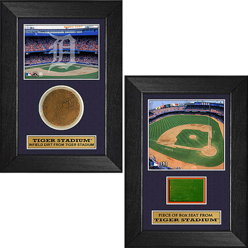 "Photo of Detroit Tigers 5""x7"" Game-Used Plaque Bundle"