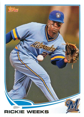 Photo of 2013 Topps #123 Rickie Weeks