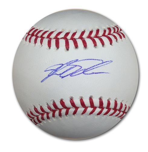 Photo of Kyle Schwarber Autographed Baseball