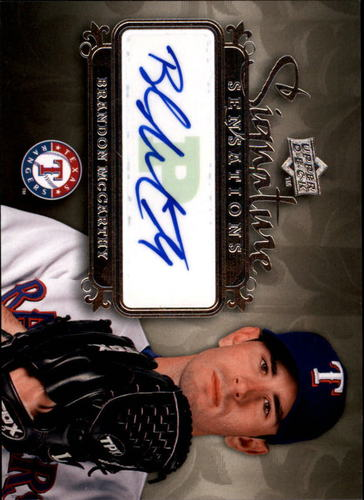 Photo of 2008 Upper Deck Signature Sensations #BM Brandon McCarthy AUTO