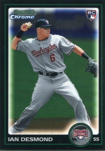 Photo of 2010 Bowman Chrome Draft #BDP14 Ian Desmond (RC)