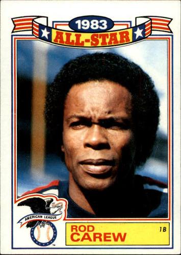 Photo of 1984 Topps Glossy All-Stars #2 Rod Carew