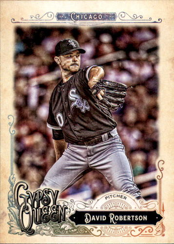 Photo of 2017 Topps Gypsy Queen #38 David Robertson
