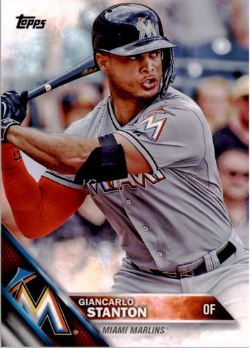 Photo of 2016 Topps #269A Giancarlo Stanton