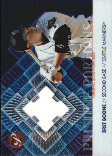 Photo of 2002 Topps Pristine Portions #BB Bret Boone Jsy B