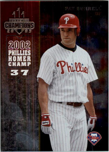 Photo of 2003 Donruss Champions Metalized #201 Pat Burrell