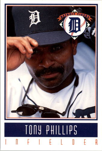 Photo of 1993 Tigers Gatorade #22 Tony Phillips