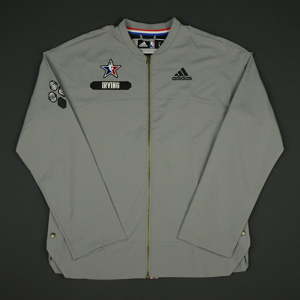 Kyrie Irving - 2017 NBA All-Star Game - Eastern Conference - Warmup-Worn Jacket
