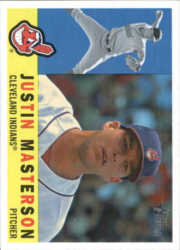 Photo of 2009 Topps Heritage #619 Justin Masterson
