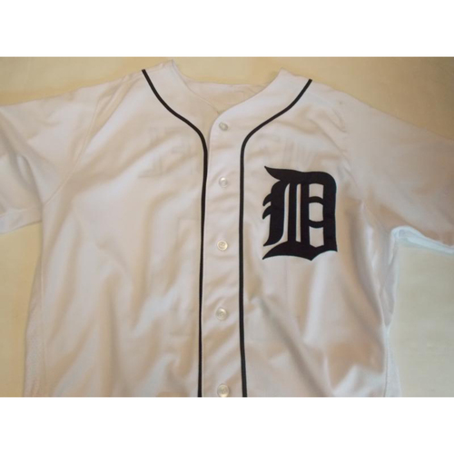 Photo of 2012 Game-Used Alex Avila Home Jersey