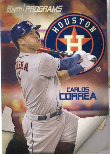 Photo of 2017 Topps Bunt Programs #PRCC Carlos Correa