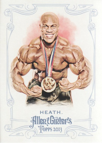 Photo of 2013 Topps Allen and Ginter #85 Phil Heath