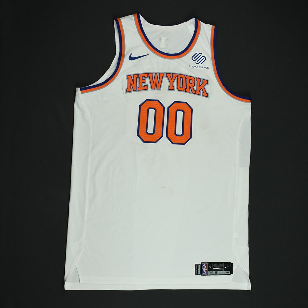 Enes Kanter - New York Knicks - NBA Christmas Day '17 Game-Worn Jersey - Double-Double