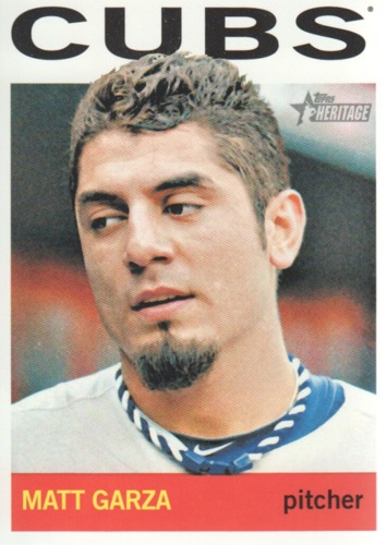 Photo of 2013 Topps Heritage #220 Matt Garza