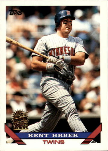 Photo of 1993 Topps Inaugural Marlins #9 Kent Hrbek