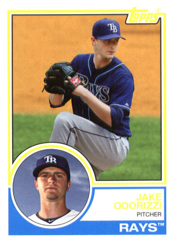 Photo of 2015 Topps Archives #249 Jake Odorizzi