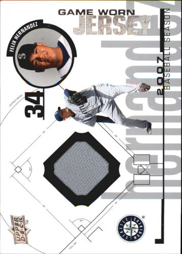 Photo of 2008 Upper Deck UD Game Materials 1998 #FH Felix Hernandez