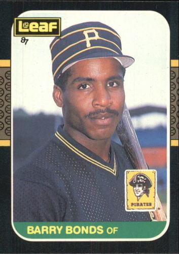 Photo of 1987 Leaf/Donruss #219 Barry Bonds