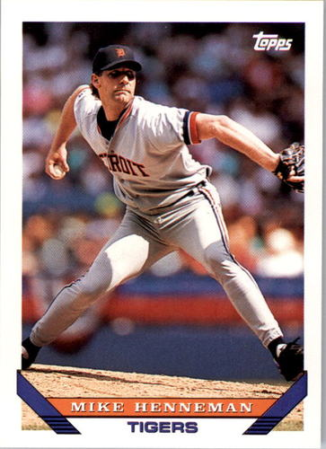 Photo of 1993 Topps #756 Mike Henneman