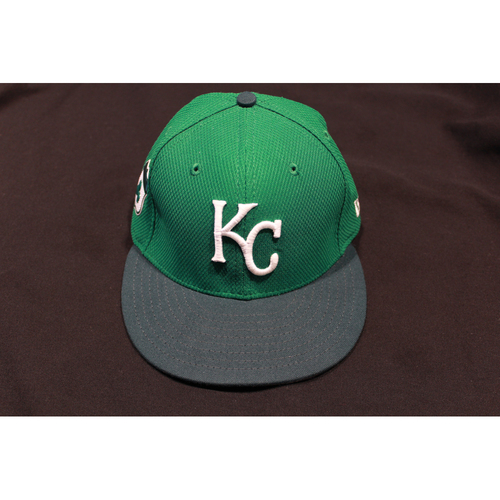 Photo of 2017 St. Patrick's Day Hat with #34 inside (Size:7 1/4)
