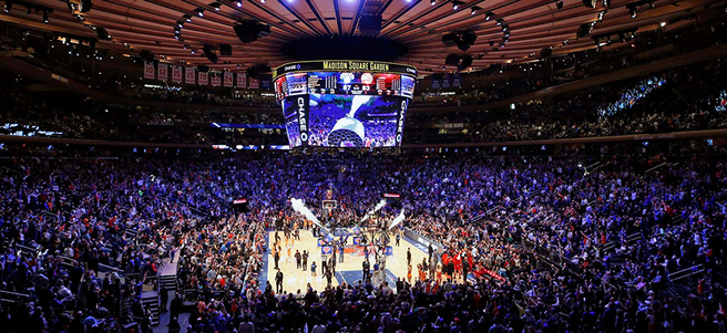NEW YORK KNICKS BASKETBALL GAME: 12/21 KNICKS VS. ATLANTA HAWKS (2 SECTION 106D TI...