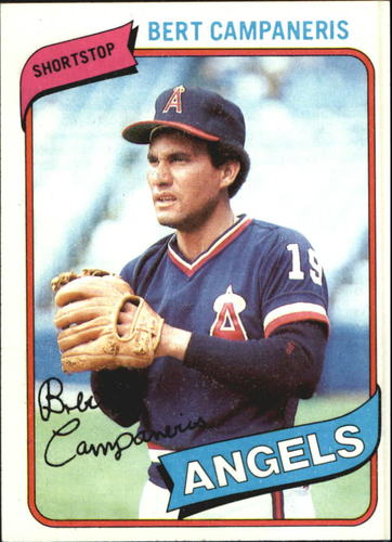 Photo of 1980 Topps #505 Bert Campaneris