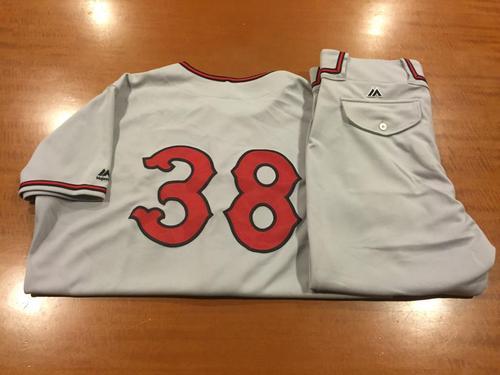 Photo of Bryan Price Game-Used Cincinnati Tigers Uniform
